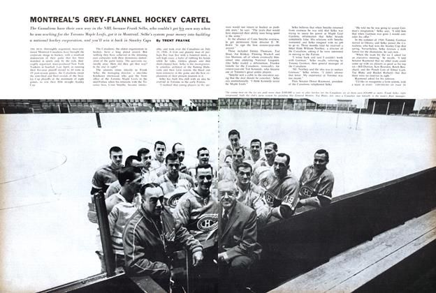 Article Preview: MONTREAL'S GREY-FLANNEL HOCKEY CARTEL, December 1960 | Maclean's
