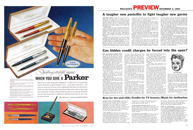 Article Preview: Can hidden credit charges be forced into the open?, December 1960   Maclean's