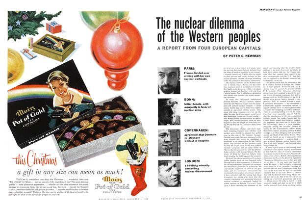 Article Preview: The nuclear dilemma of the Western peoples, December 1960 | Maclean's