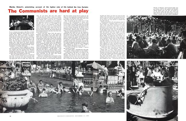 Article Preview: The lighter side of life behind the Iron Curtain: The Communists are hard at play , December 1960 | Maclean's