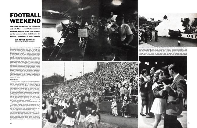 Article Preview: FOOTBALL WEEKEND, December 1960 | Maclean's