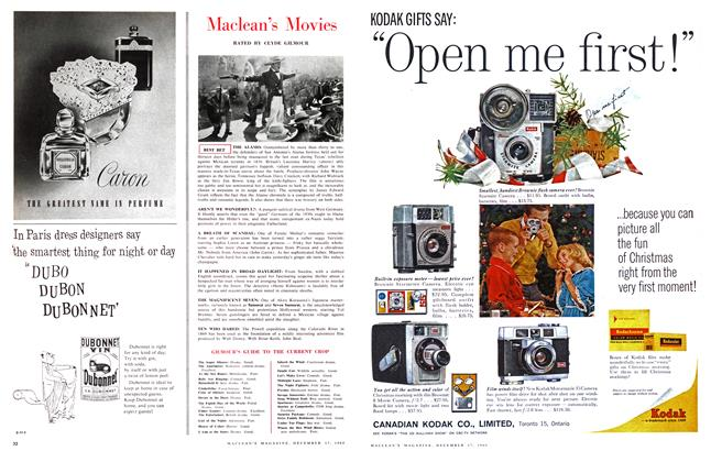 Article Preview: Maclean's Movies, December 1960 | Maclean's