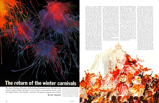 Article Preview: The return of the winter carnivals, January 1961 | Maclean's