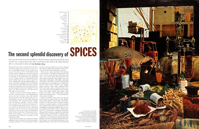 Article Preview: The second splendid discovery of, January 1961 | Maclean's