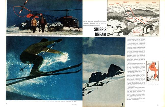 Article Preview: SKIER'S DREAM, January 1961 | Maclean's