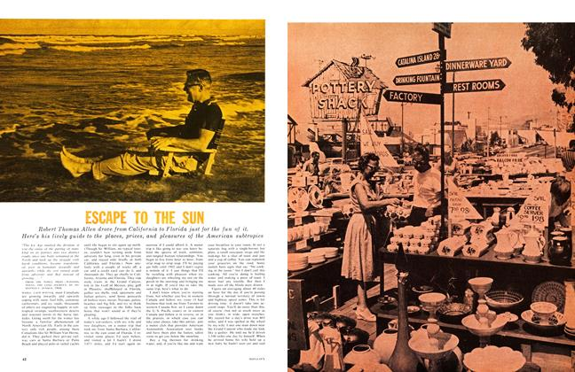 Article Preview: ESCAPE TO THE SUN, January 1961 | Maclean's