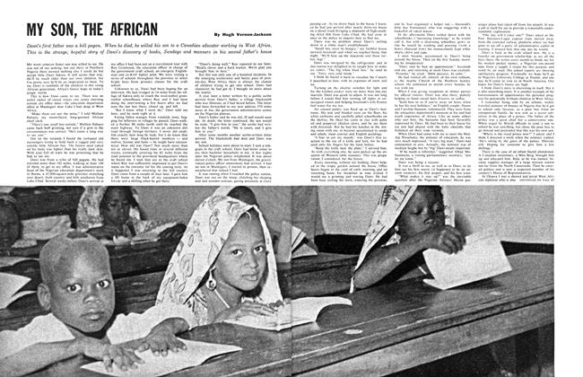 Article Preview: MY SON, THE AFRICAN, January 1961 | Maclean's