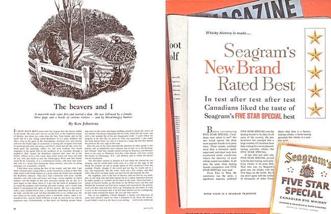 Article Preview: The beavers and I, January 1961 | Maclean's