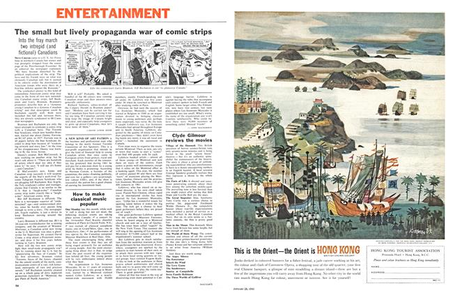 Article Preview: The small but lively propaganda war of comic strips, January 1961 | Maclean's