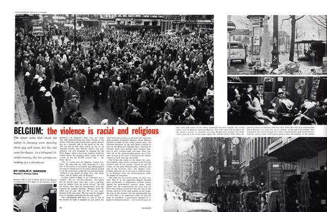 Article Preview: BELGIUM: the violence is racial and religious, February 1961 | Maclean's