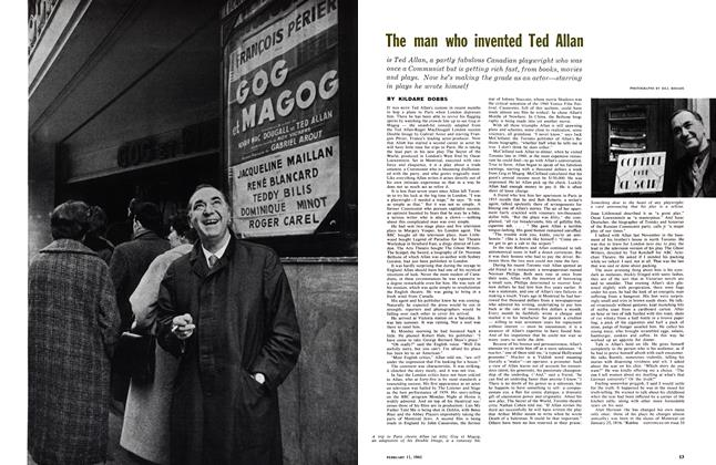 Article Preview: The man who invented Ted Allan, February 1961 | Maclean's