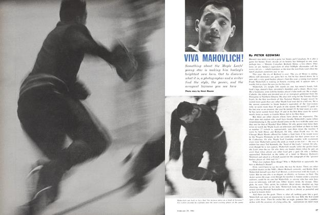Article Preview: VIVA MAHOVLICH!, February 1961 | Maclean's