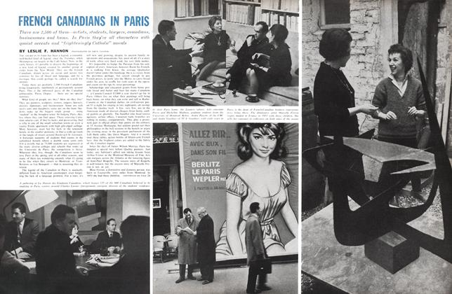 Article Preview: FRENCH CANADIANS IN PARIS, February 1961 | Maclean's
