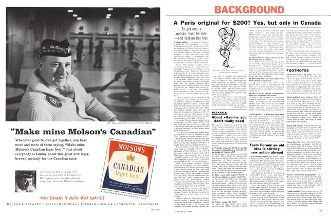 Article Preview: BACKGROUND, February 1961 | Maclean's