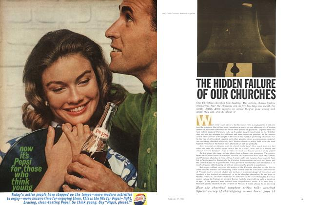 Article Preview: THE HIDDEN FAILURE OF OUR CHURCHES, February 1961 | Maclean's
