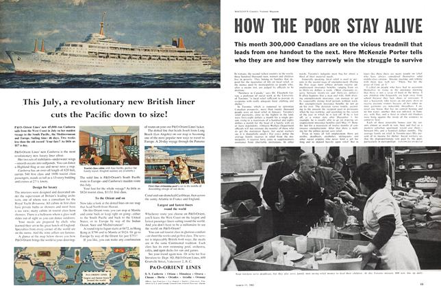 Article Preview: HOW THE POOR STAY ALIVE, March 1961 | Maclean's