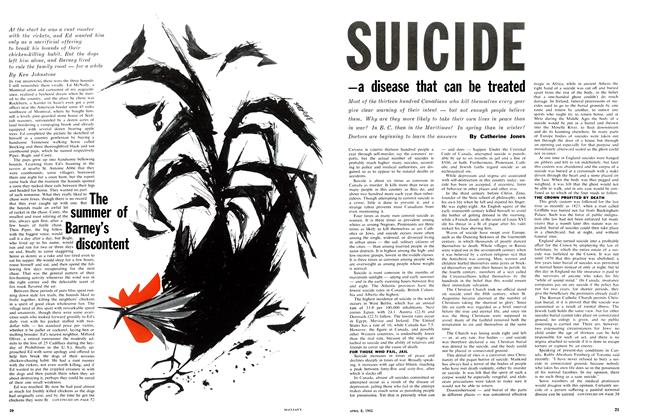 Article Preview: The summer of Barney's discontent, April 1961 | Maclean's