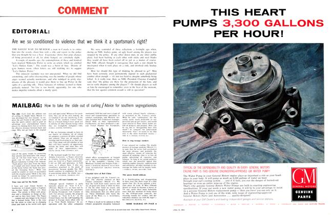Article Preview: EDITORIAL, April 1961 | Maclean's