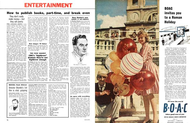 "Article Preview: CBC's ""highbrow"" dramas: they're not highbrow enough, April 1961 