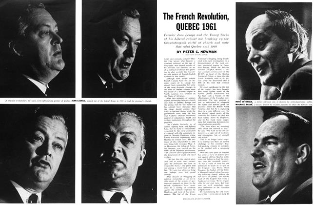 Article Preview: The French Revolution, QUEBEC 1961, April 1961 | Maclean's