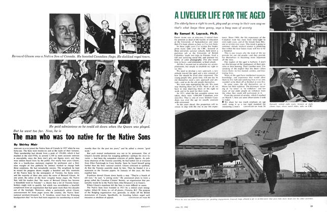 Article Preview: The man who was too native for the Native Sons, April 1961 | Maclean's