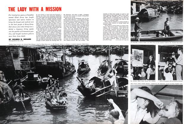 Article Preview: THE LADY WITH A MISSION, April 1961 | Maclean's