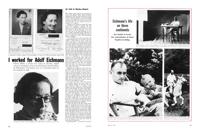 Article Preview: I worked for Adolf Eichmann, April 1961 | Maclean's