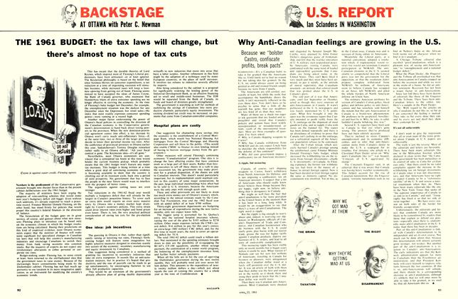 Article Preview: Why Anti-Canadian feelings are growing in the U.S., April 1961 | Maclean's