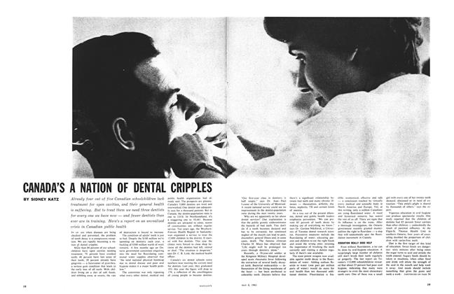 Article Preview: CANADA'S A NATION OF DENTAL CRIPPLES, May 1961 | Maclean's