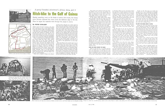Article Preview: Hitch-hike to the Gulf of Guinea, May 1961 | Maclean's