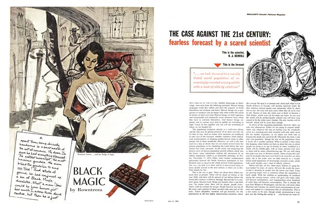 Article Preview: THE CASE AGAINST THE 21st CENTURY, May 1961 | Maclean's