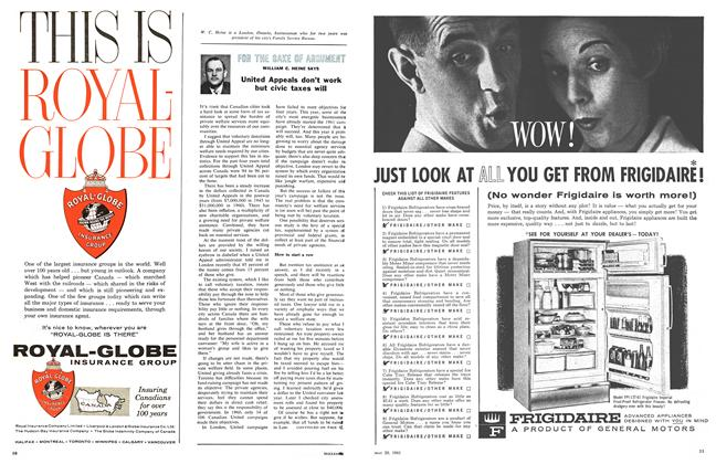 Article Preview: FOR THE SAKE OF ARGUMENT, May 1961 | Maclean's