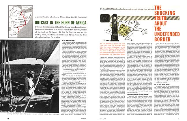 Article Preview: OUTCAST IN THE HORN OF AFRICA, June 1961 | Maclean's