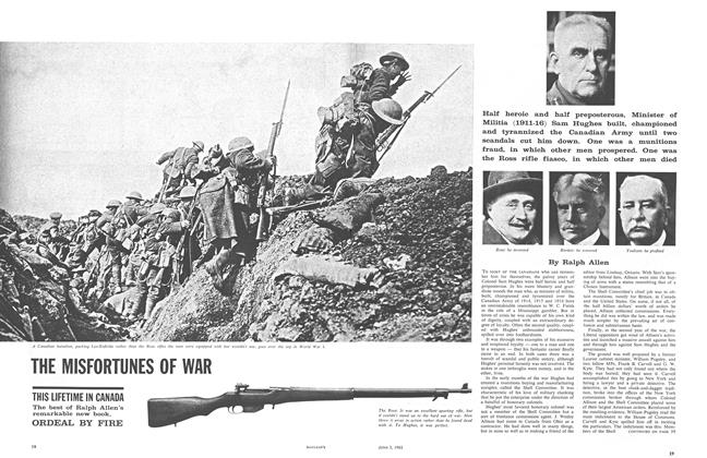 Article Preview: THE MISFORTUNES OF WAR, June 1961 | Maclean's