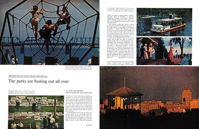 Article Preview: The parks are busting out all over, June 1961 | Maclean's