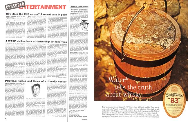 Article Preview: A WASP strikes back at censorship by minorities, June 1961 | Maclean's