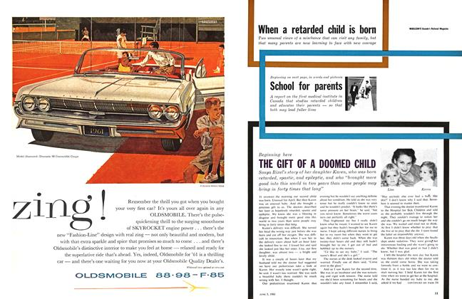 Article Preview: THE GIFT OF A DOOMED CHILD, June 1961 | Maclean's