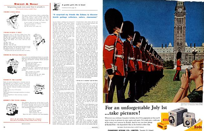 Article Preview: Songwriting made even easier than it actually is, July 1961 | Maclean's