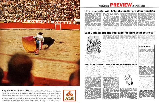Article Preview: PROFILE, July 1961 | Maclean's