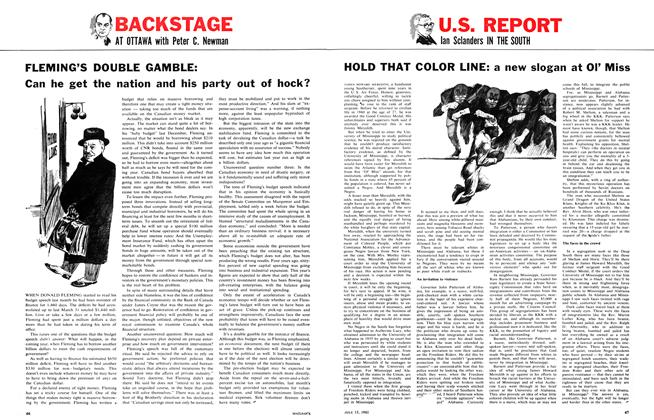 Article Preview: HOLD THAT COLOR LINE: a new slogan at OI' Miss, July 1961 | Maclean's