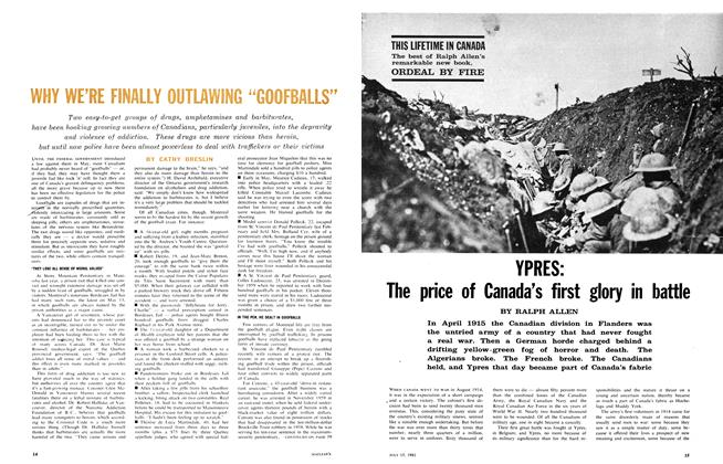 Article Preview: YPRES: The price of Canada's first glory in battle, July 1961 | Maclean's