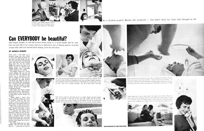 Article Preview: Can EVERYBODY be beautiful?, July 1961 | Maclean's