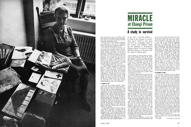 Article Preview: MIRACLE at Changi Prison, August 1961 | Maclean's
