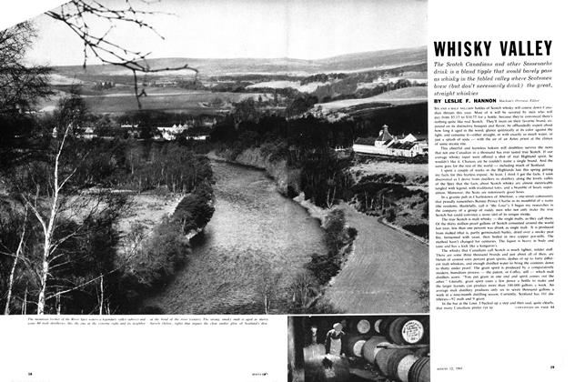 Article Preview: WHISKY VALLEY, August 1961 | Maclean's