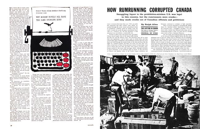 Article Preview: HOW RUMRUNNING CORRUPTED CANADA, August 1961 | Maclean's