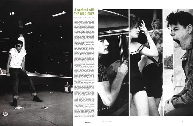 Article Preview: A weekend with THE WILD ONES, September 1961 | Maclean's
