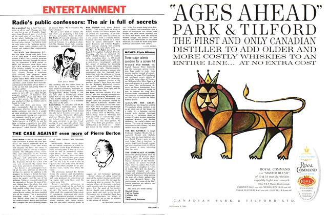 Article Preview: Three stage talents combine for a screen hit, September 1961 | Maclean's