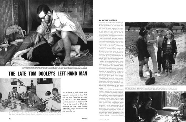 Article Preview: THE LATE TOM DOOLEY'S LEFT-HAND MAN, September 1961 | Maclean's