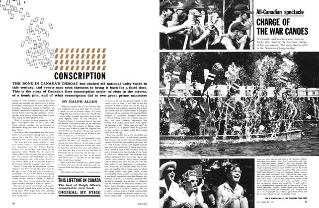 Article Preview: CONSCRIPTION, September 1961 | Maclean's