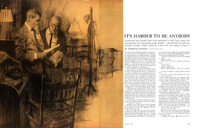 Article Preview: IT'S HARDER TO BE ANYBODY, October 1961 | Maclean's